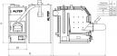Твердотопливный котел на пеллетах Альтеп TRIO UNI Pellet (КТ-3ЕPG) - 30 кВт 2